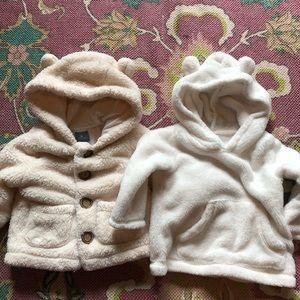 Baby Gap & Carter's Button Up Fleece Coat Sweater